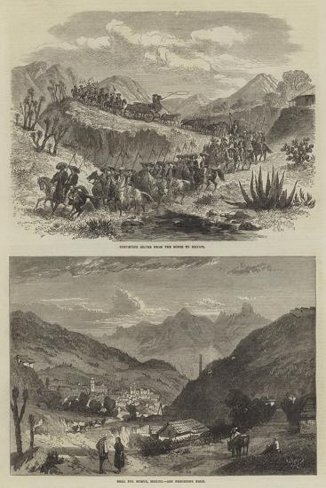 The Silver Mines of Real Del Monte--Giclee Print