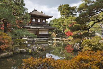 The Silver Pavilion, Buddhist Temple of Ginkaku-Ji, Northern Higashiyama, Kyoto, Japan-Stuart Black-Photographic Print