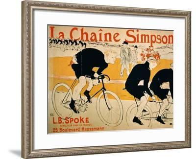 The Simpson Chain, Paris--Framed Giclee Print