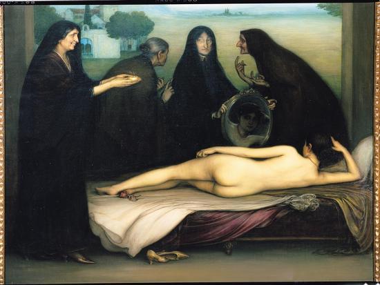 The Sin-Julio Romero de Torres-Giclee Print