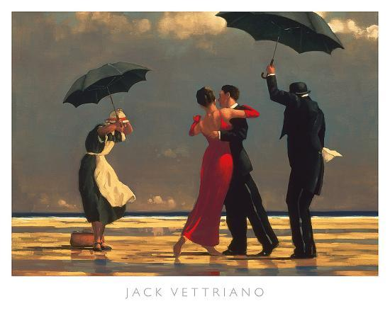 The Singing Butler-Jack Vettriano-Art Print