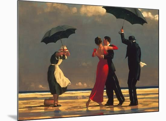 The Singing Butler-Jack Vettriano-Mounted Art Print