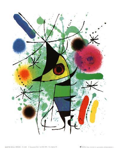 The Singing Fish-Joan Mir?-Art Print