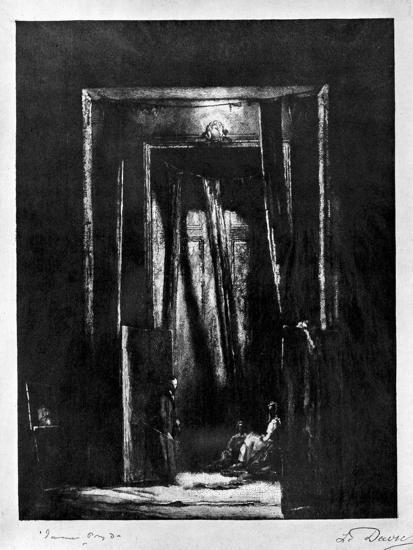 The Sinister Interior, 1930-L Daviel-Giclee Print