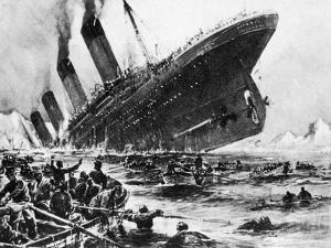 The Sinking of SS Titanic, 14 April 1912