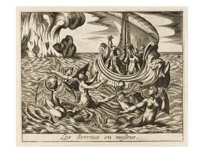 The Sirens--Giclee Print