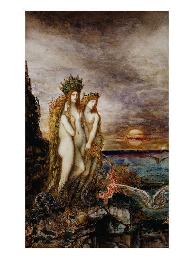 The Sirens-Gustave Moreau-Giclee Print