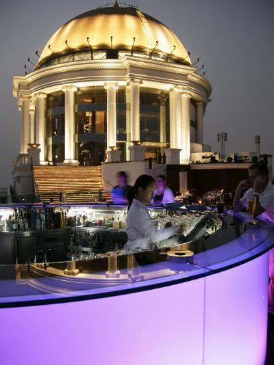 The Sirocco Bar, on Top of State Tower, Bangkok, Thailand, Southeast Asia-Angelo Cavalli-Photographic Print