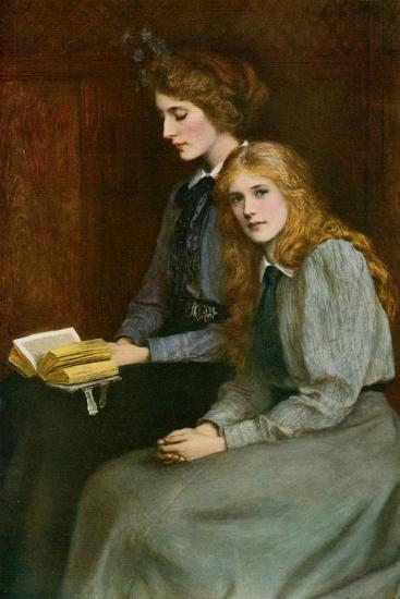 The Sisters, 1900-Ralph Peacock-Giclee Print