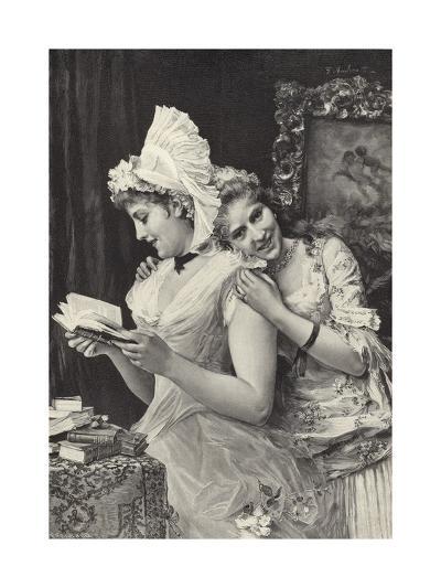 The Sisters-Federigo Andreotti-Giclee Print