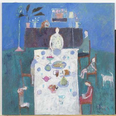 The Sit Down Meal, 2004-Susan Bower-Giclee Print