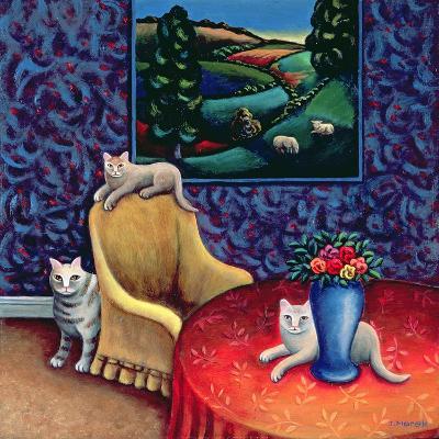 The Sitting Room-Jerzy Marek-Giclee Print
