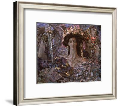 The Six Winged Seraph-Mikhail Alexandrovich Vrubel-Framed Giclee Print