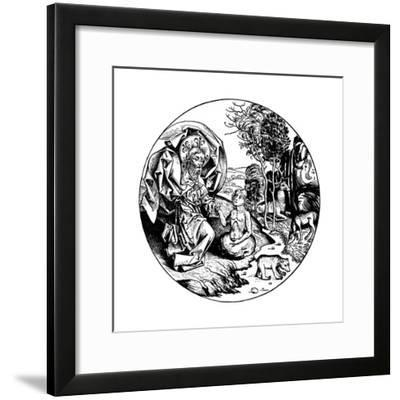 The Sixth Day of Creation, 1493--Framed Giclee Print