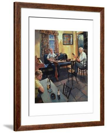 The Skerry Inn, 2002-Hector McDonnell-Framed Giclee Print