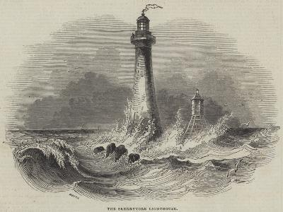 The Skerryvore Lighthouse--Giclee Print