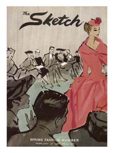 The Sketch Front Cover, 1957--Giclee Print