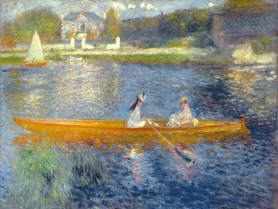 The Skiff (La Yole), 1875-Pierre-Auguste Renoir-Giclee Print