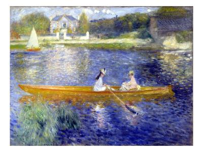 The Skiff (La Yole)-Pierre-Auguste Renoir-Giclee Print