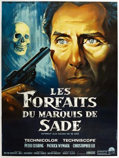 The Skull, French poster, Peter Cushing, 1965--Art Print