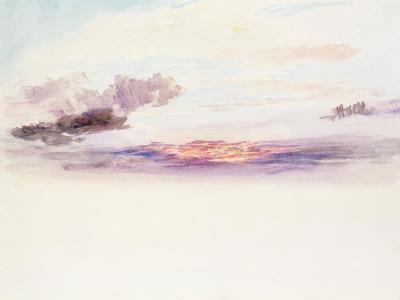 The Sky at Dawn-J^ M^ W^ Turner-Giclee Print