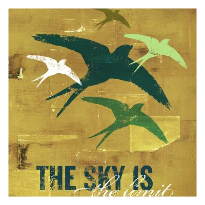 The Sky is the Limit 3-CJ Elliott-Premium Giclee Print
