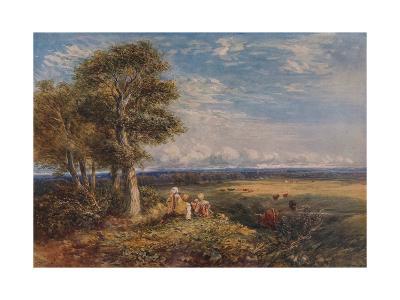 The Skylark, 1848-David Cox the elder-Giclee Print