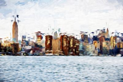 The Skyline II - In the Style of Oil Painting-Philippe Hugonnard-Giclee Print
