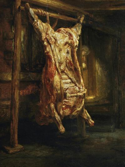 The Slaughtered Ox, 1655-Rembrandt van Rijn-Giclee Print