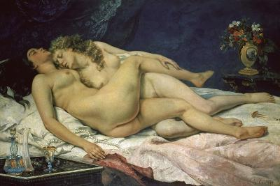 The Sleep (Le Sommeil), 1866-Gustave Courbet-Giclee Print