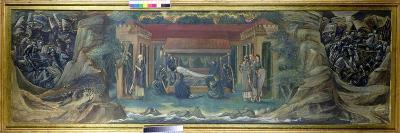 The Sleep of Arthur in Avalon, 1894-Edward Burne-Jones-Giclee Print