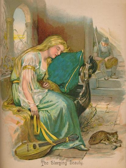 'The Sleeping Beauty', 1903-Unknown-Giclee Print