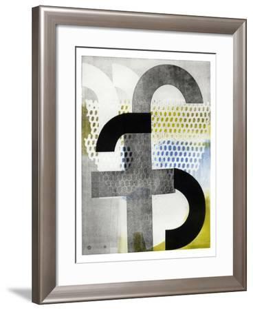 The Small F-Stacy Milrany-Framed Art Print