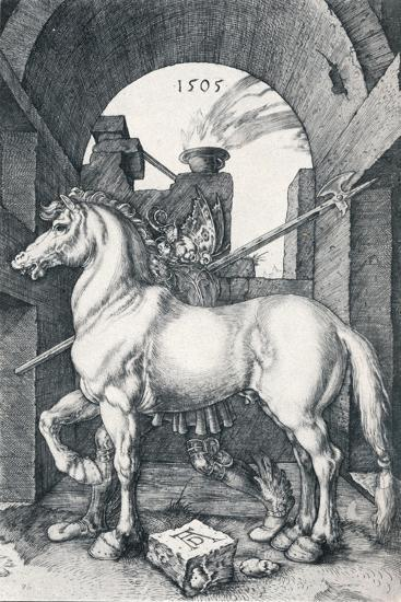 The Small Horse, 1505-Albrecht D?rer-Giclee Print