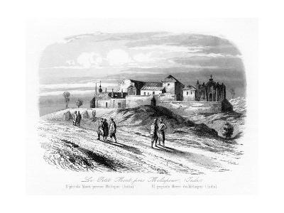 The Small Mount Near Meliapur, India, C1840-N Remond-Giclee Print
