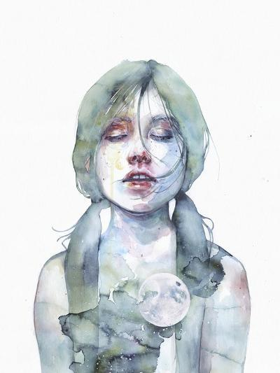 The Smallest Thing of the Universe-Agnes Cecile-Art Print