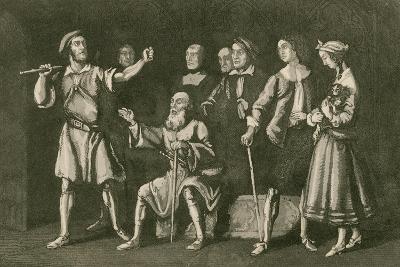 The Smith Threatening Leonard Holt-John Franklin-Giclee Print
