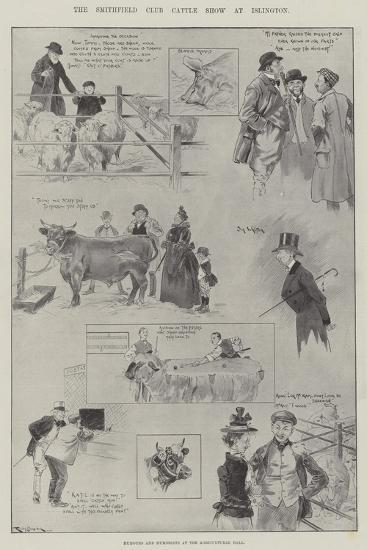 The Smithfield Club Cattle Show at Islington-Ralph Cleaver-Giclee Print
