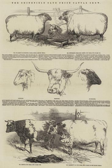 The Smithfield Club Prize Cattle Show-Harrison William Weir-Giclee Print