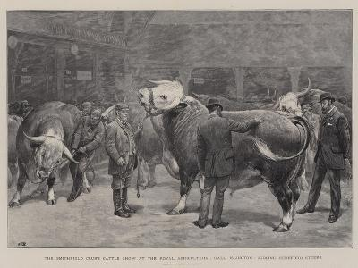 The Smithfield Club's Cattle Show at the Royal Agricultural Hall-John Charlton-Giclee Print