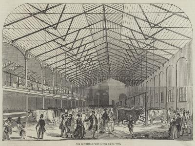 The Smithfield Prize Cattle Show, 1845--Giclee Print