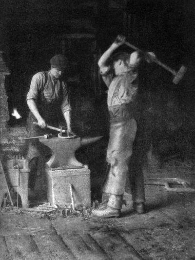 The Smithy, 1911-1912--Giclee Print