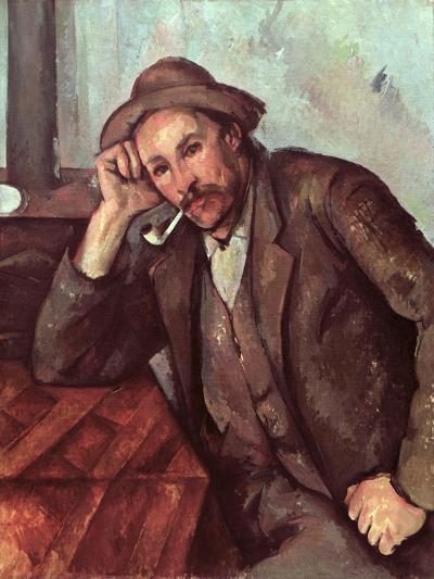 The Smoker, 1891-92-Paul C?zanne-Giclee Print