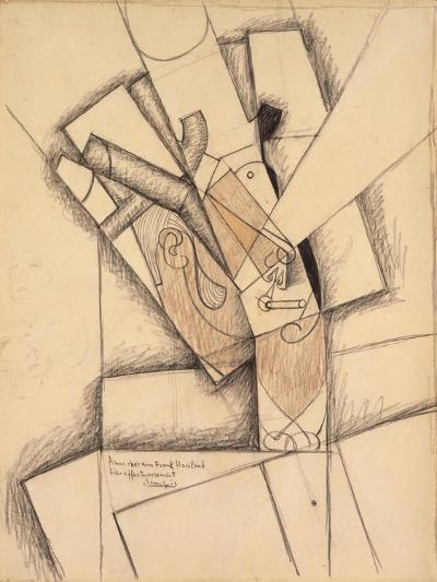 The Smoker, 1913-Juan Gris-Giclee Print