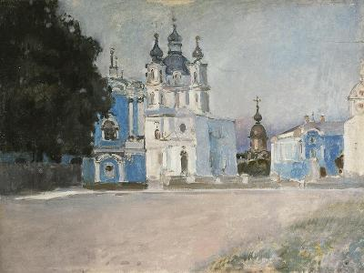 The Smolny Convent in Saint Petersburg, Early 20th C-Stepan Petrovich Yaremich-Giclee Print