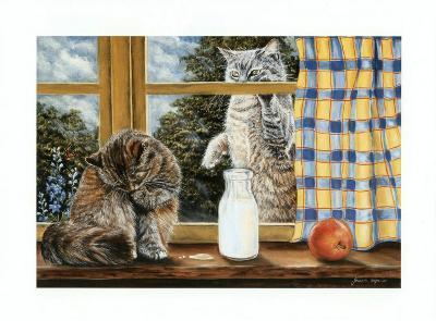 The Snack-Jeanette Tr?panier-Art Print