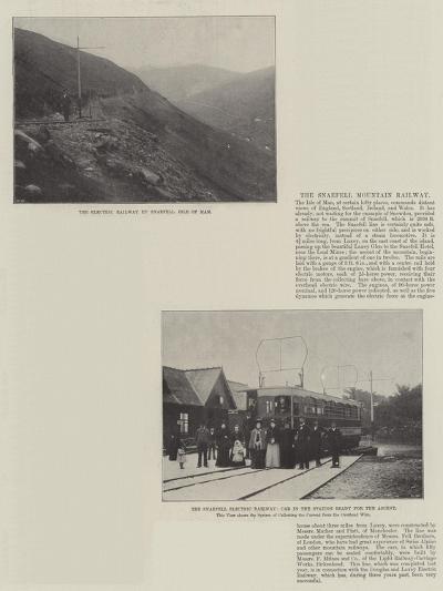 The Snaefell Mountain Railway--Giclee Print