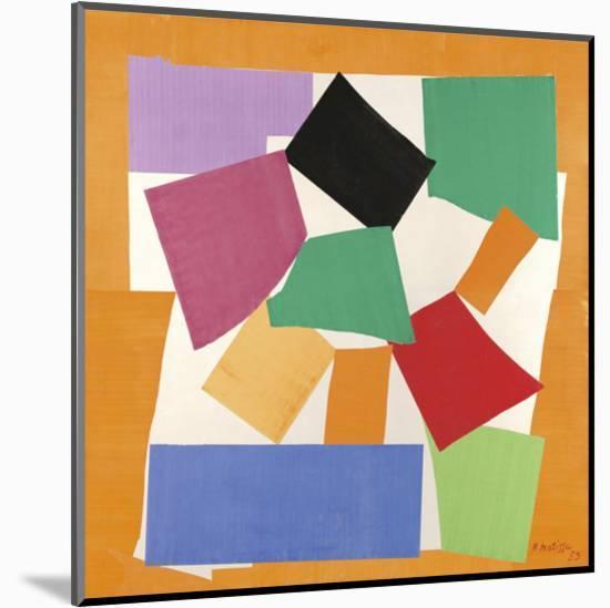 The Snail, 1953-Henri Matisse-Mounted Art Print