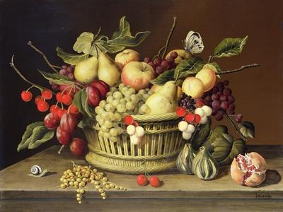 The Snail and the Pomegranate-Brian Irving-Giclee Print