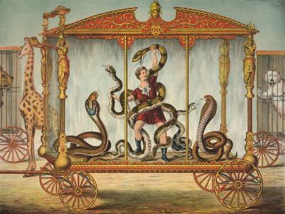 The Snake Wagon--Giclee Print
